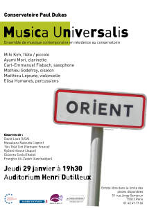 2015-01-29 Musica U